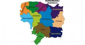 sunamganj map
